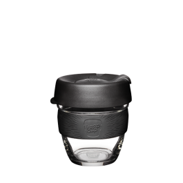 KeepCup 8oz clear-black