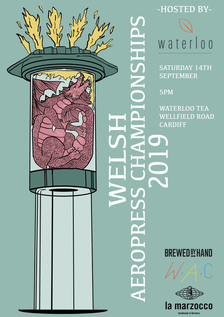 Welsh Aeropress Championships - Saturday 14th September, 2019