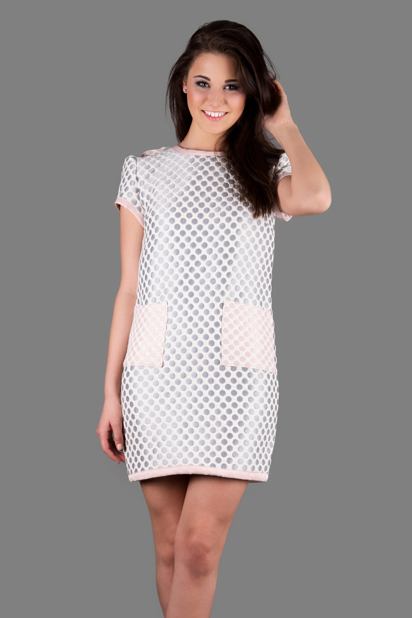3D Polka Dot Dress