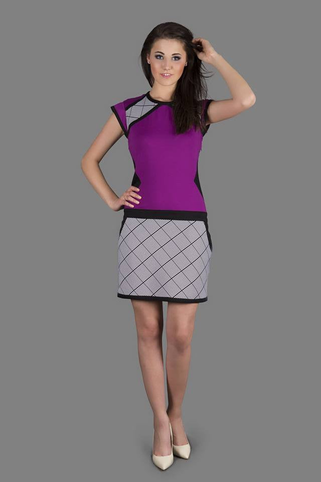 Chequered pattern Dress