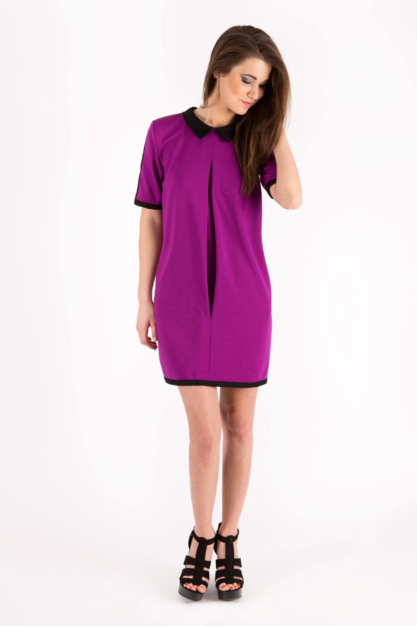 Fuchsia Bebe Dress
