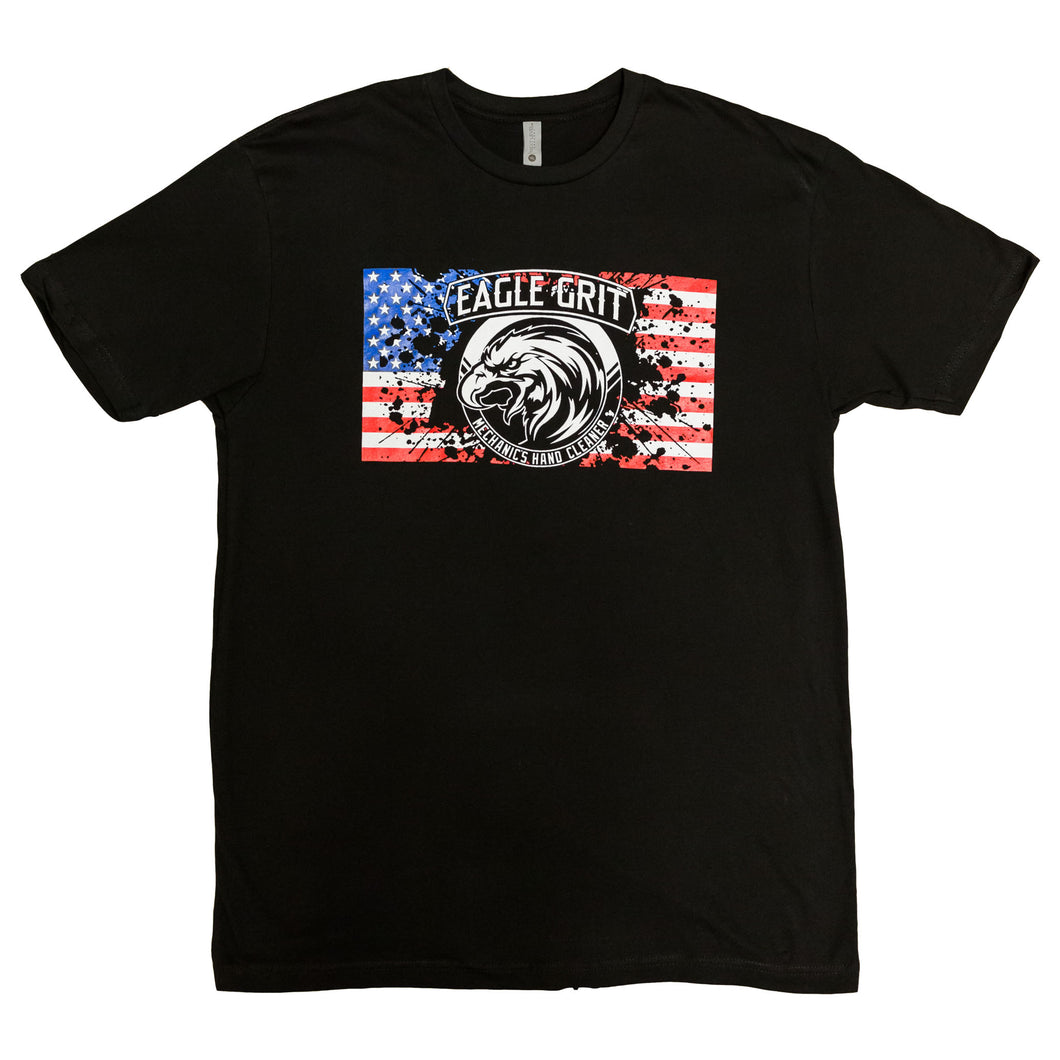 USA Logo T-Shirt - Eagle Grit