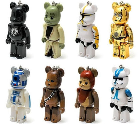 Star Wars Bearbrick Japan Set: $74.95