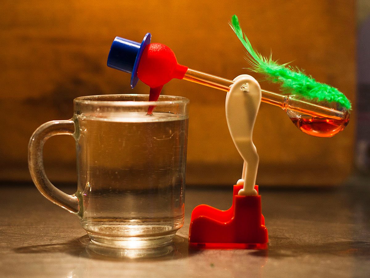 drinking bird toy