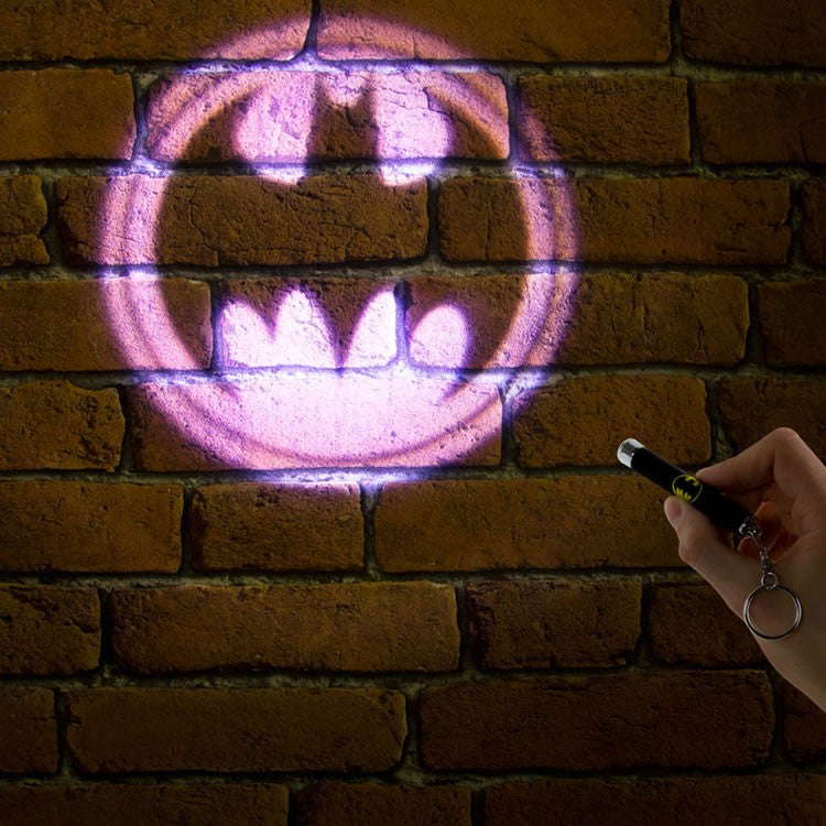 bat-signal keychain light