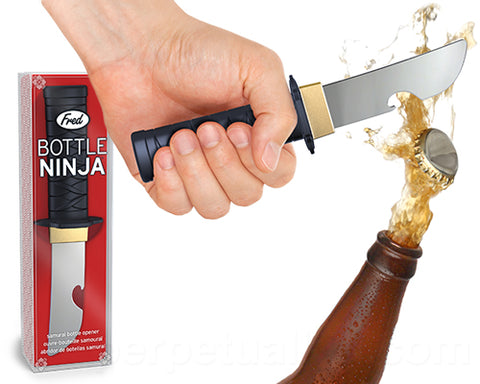 Ninja Bottle Opener by Fred: $12.95