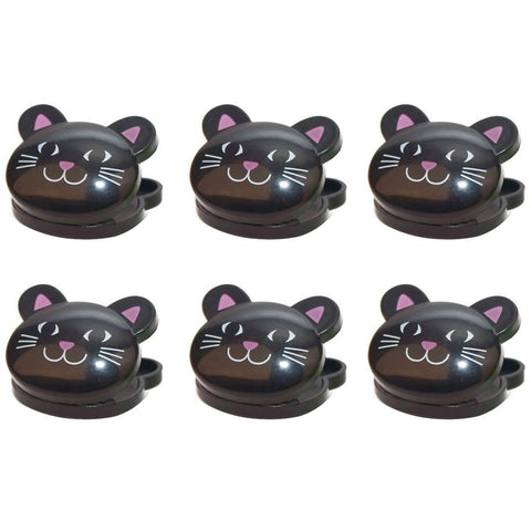 Black Cat Bag Clips: $7.95