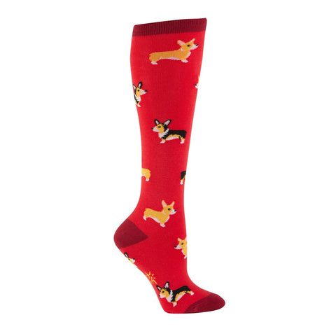 Corgi Knee-Highs by Sock It To Me: $12.00