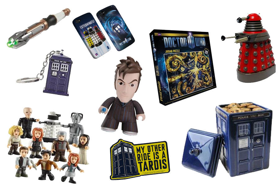 Doctor Who toys and collectibles