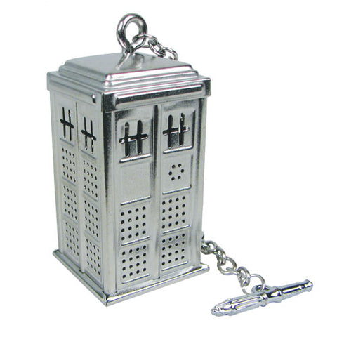 Doctor Who TARDIS tea infuser: $29.95