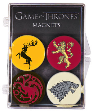 Game of Thrones Magnet Set: $13.95
