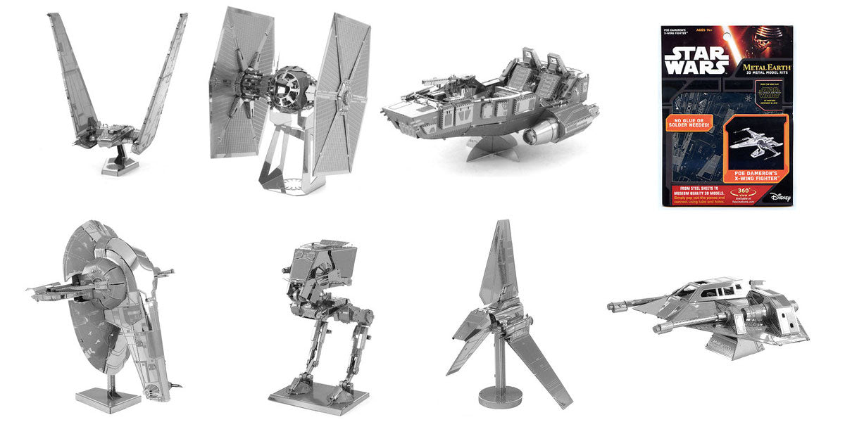 star wars metal earth models