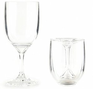 Portable Wine Glasses: $14.95