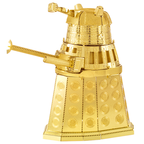 Metal Earth Gold Dalek