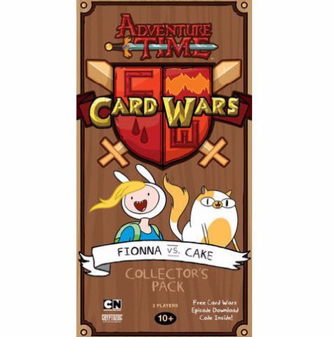 Adventure Time Card Wars:  Fionna vs Cake