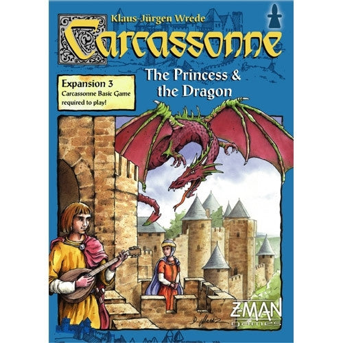 Carcassonne EXP Princess and Dragon