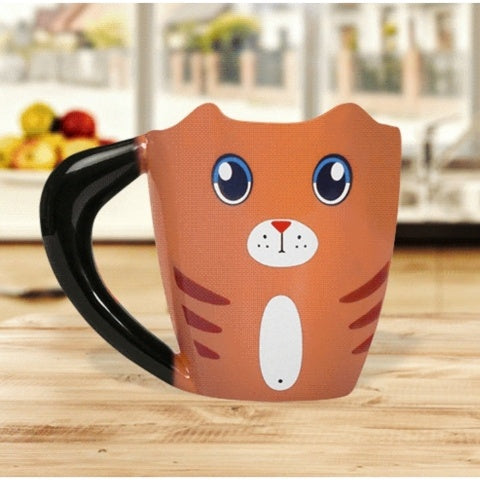 Ginger Cat Heat Change Mug
