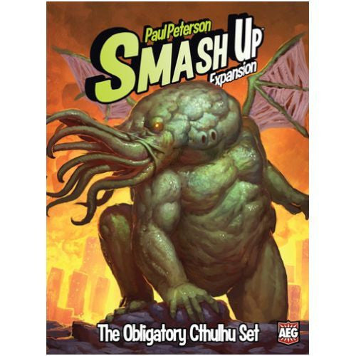 Smash Up Exp Obligatory Cthulhu