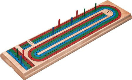 Cribbage Three Track colour
