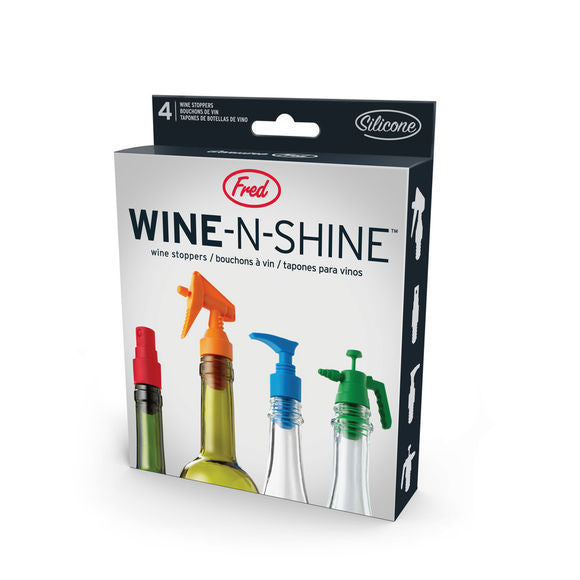 Wine and Shine Bottle Stoppers