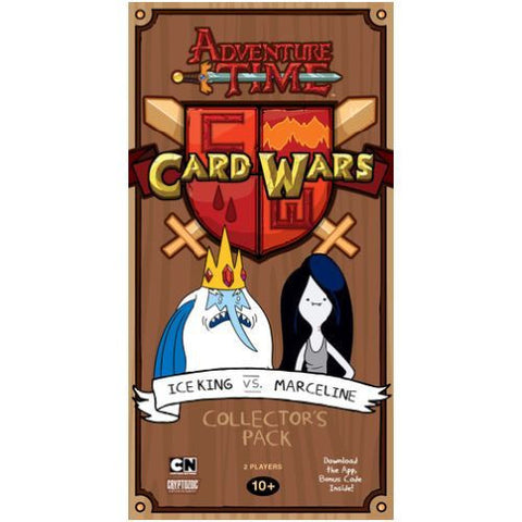 Card Wars Ice King vs Marceline