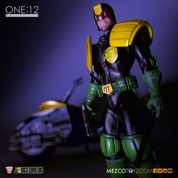 Judge Dredd One:12 Figure