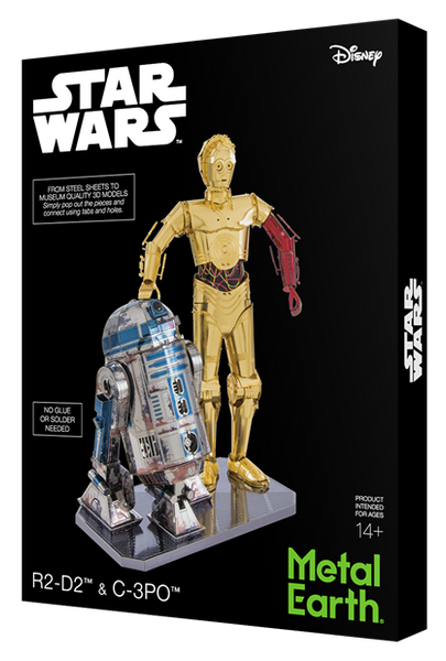 Metal Earth R2D2 C3PO