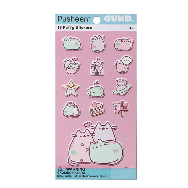 Pusheen Stickers Pastel