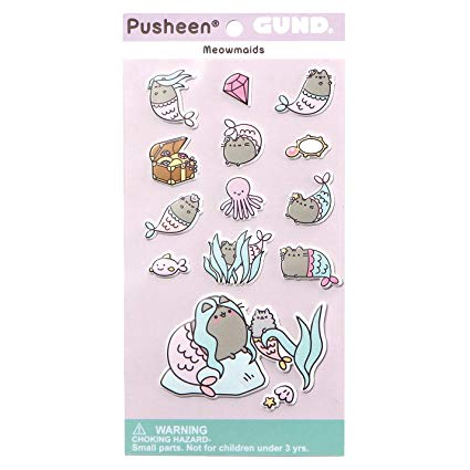 Pushhen Meowmaids Stickers