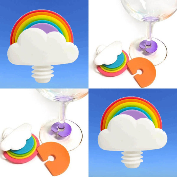 Rainbow Wine Stoppers