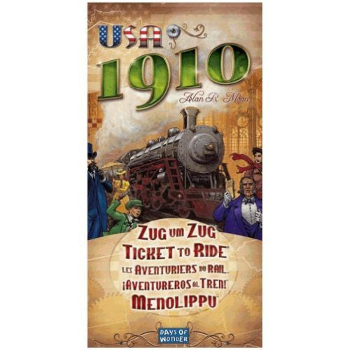 Ticket to Ride Exp - USA 1910