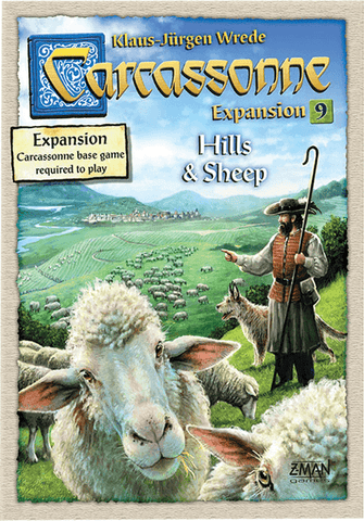 Carcassonne: Expansion 9-  Hills & Sheep