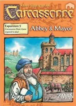 Carcassonne EXP Abbey and Mayor