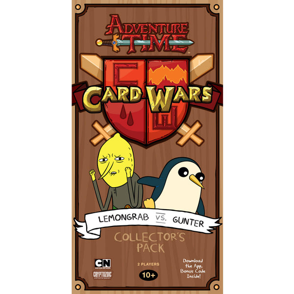 Card Wars Lemongrab vs Gunter