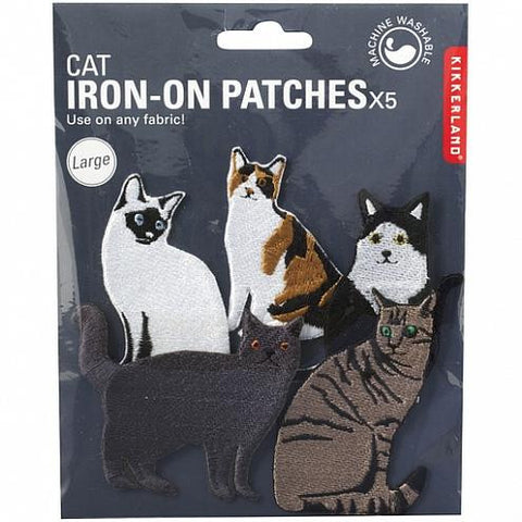 Cat Iron On Patches Large