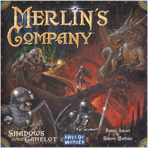 Shadows Over Camelot Exp Merlin's Company