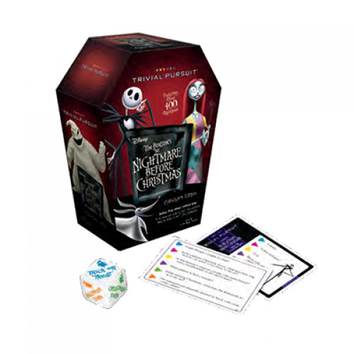 Nightmare Before Christmas Trivial Pursuit Collectors Edition