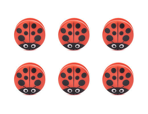 Lady Bug Bag Clips