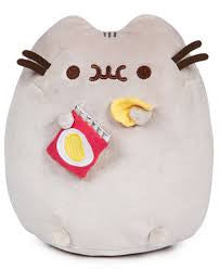 Pusheen Eating Chips