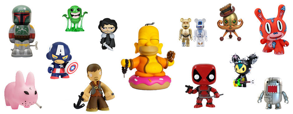 Designer toys by Kidrobot, Funko and more!