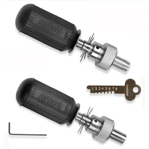 SouthOrd Advanced Tubular Lock Picks (7 & 8 Pin Set)
