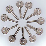 11 Piece Skeleton Keys - The Fairbanks Set - UKBumpKeys
