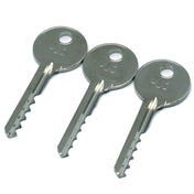 3 Piece Ultimate Bump Key Set for Lock Bumping (Reverse) - UKBumpKeys