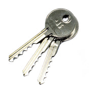 3 Piece Ultimate Bump Key Set - Ideal for Lock Bumping