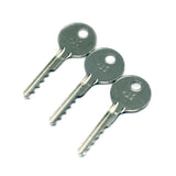 3 Piece Ultimate Bump Key Set - Ideal for Lock Bumping - UKBumpKeys