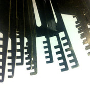 Three Piece Comb Padlock Picks - UKBumpKeys