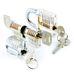 Dangerfield clear training locks set