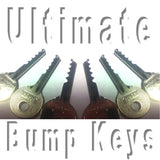 6 Piece Ultimate Bump Key Set - UKBumpKeys