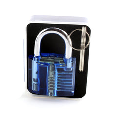 Clear Lock Picking Padlock + Mecanismo visible: dificultad media - UKBumpKeys