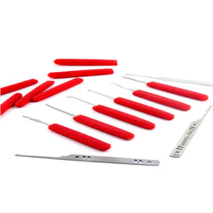 Dangerfield Red Devils Verschlussknöpfe (12-Pack) - UKBumpKeys
